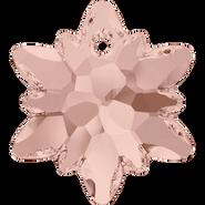 Swarovski Pendant 6748 - 14mm, Vintage Rose (319), 2pcs