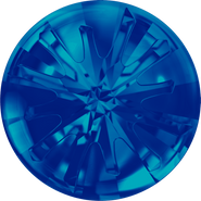 Swarovski Round Stone 1695 - 14mm, Crystal Bermuda Blue (001 BBL) Foiled, 2pcs