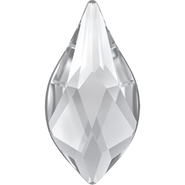 Swarovski Flatback 2205 - 10mm, Crystal (001) Foiled, No Hotfix, 4pcs