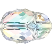 Swarovski Bead 5728 - 12mm, Crystal Aurore Boreale (001 AB), 4pcs