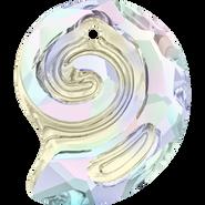 Swarovski Pendant 6731 - 14mm, Crystal Aurore Boreale (001 AB), 2pcs