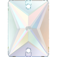 Swarovski Sew-on 3250 - 25x18mm, Crystal Aurore Boreale (001 AB) Foiled, 1pcs