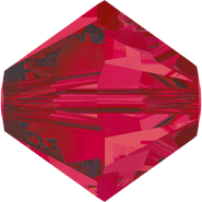 Swarovski Bead 5328 - 4mm, Ruby (501), 48pcs