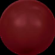 Swarovski Crystal Pearl 5810 - 4mm, Crystal Bordeaux Pearl (001 538), 100pcs