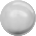 Swarovski Crystal Pearl 5810 - 4mm, Crystal Light Grey Pearl (001 616), 100pcs