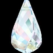 Swarovski Pendant 6020 - 18mm, Crystal Aurore Boreale (001 AB), 2pcs