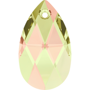 Swarovski Pendant 6106 - 22mm, Crystal Luminous Green (001 LUMG), 2pcs