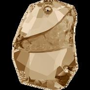 Swarovski 6191 - 19mm, Crystal Golden Shadow (001 GSHA), 1pcs
