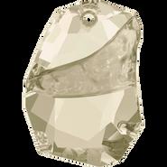 Swarovski 6191 - 19mm, Crystal Silver Shade (001 SSHA), 1pcs