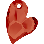 Swarovski Pendant 6261 - 27mm, Crystal Red Magma (001 REDM), 1pcs