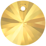 Swarovski Pendant 6428 - 6mm, Crystal Metallic Sunshine (001 METSH), 20pcs