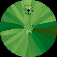 Swarovski Pendant 6428 - 8mm, Dark Moss Green (260), 12pcs