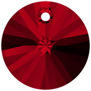 Swarovski Pendant 6428 - 8mm, Siam (208), 12pcs