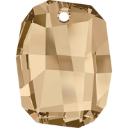 Swarovski Pendant 6685 - 28mm, Crystal Golden Shadow (001 GSHA), 1pcs