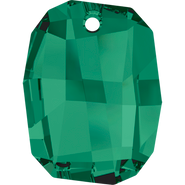 Swarovski Pendant 6685 - 28mm, Emerald (205), 1pcs