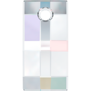 Swarovski Pendant 6696 - 30mm, Crystal Aurore Boreale (001 AB), 1pcs