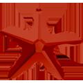 Swarovski Pendant 6721 - 40mm, Crystal Red Magma (001 REDM), 1pcs