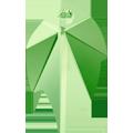 Swarovski Pendant 6735 - 32X20mm, Peridot (214), 1pcs