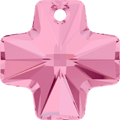 Swarovski Pendant 6866 - 20mm, Light Rose (223), 1pcs