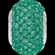 Swarovski Becharmed 180101# 14m Emerald, (1pcs)