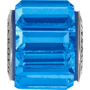 Swarovski Becharmed 180301# 10.5m Sapphire, (1pcs)