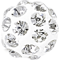 Swarovski Becharmed 186001# 8m Crystal, (1pcs)