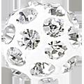 Swarovski Becharmed 186001# 10m Crystal, (1pcs)