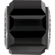 Swarovski Becharmed 180301# 10.5m Jet, (1pcs)