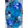 Swarovski Becharmed 181304# 16.5m Blue Series, (1pcs)
