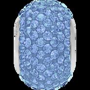 Swarovski Becharmed 180101# 14m Lt Sapphire, (1pcs)