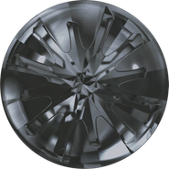 Swarovski Round Stone 1695 - 10mm, Crystal Silver Night (001 SINI) Unfoiled, 72pcs