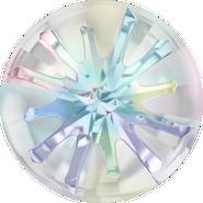 Swarovski Round Stone 1695 - 14mm, Crystal Aurore Boreale (001 AB) Foiled, 36pcs