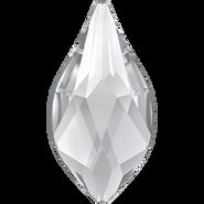Swarovski Flatback 2205 - 10mm, Crystal (001) Foiled, No Hotfix, 144pcs