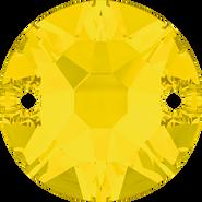 Swarovski Sew-on 3288 - 8mm, Yellow Opal (231) Foiled, 144pcs