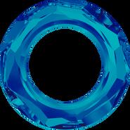Swarovski Fancy Stone 4139 - 14mm, Crystal Bermuda Blue (001 BBL) Unfoiled, 72pcs