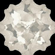 Swarovski Fancy Stone 4195 - 14mm, Crystal Silver Shade (001 SSHA) Foiled, 24pcs