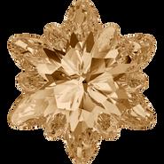 Swarovski Fancy Stone 4753 - 18mm, Crystal Golden Shadow (001 GSHA) Foiled, 24pcs