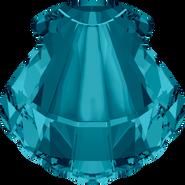 Swarovski Fancy Stone 4789 - 14mm, Indicolite (379) Foiled, 72pcs