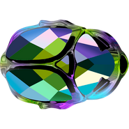 Swarovski Bead 5728 - 12mm, Crystal Scarabgre (001SCGR), 96pcs