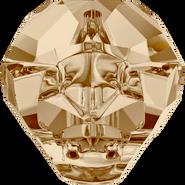 Swarovski 5751 - 14mm, Crystal Golden Shadow (001 GSHA), 12pcs
