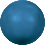Swarovski Crystal Pearl 5811 - 10mm, Crystal Lapis Pearl (001 717), 100pcs