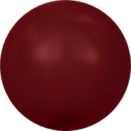 Swarovski Crystal Pearl 5811 - 14mm, Crystal Bordeaux Pearl (001 538), 50pcs