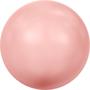 Swarovski Crystal Pearl 5811 - 16mm, Crystal Pink Coral Pearl (001 716), 25pcs