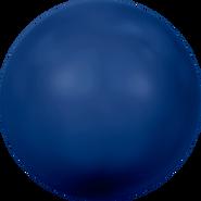 Swarovski Crystal Pearl 5811 - 16mm, Crystal Dark Lapis Pearl (001 719), 25pcs