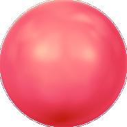 Swarovski Crystal Pearl 5811 - 16mm, Crystal Neon Red Pearl (001 770), 25pcs