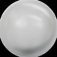 Swarovski Crystal Pearl 5818 - 10mm, Crystal Light Grey Pearl (001 616), 100pcs