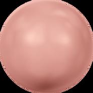 Swarovski Crystal Pearl 5818 - 12mm, Crystal Rose Peach Pearl (001 674), 100pcs