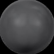 Swarovski Crystal Pearl 5818 - 6mm, Crystal Black Pearl (001 298), 500pcs