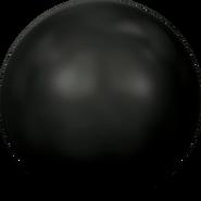 Swarovski Crystal Pearl 5818 - 6mm, Crystal Mystic Black Pearl (001 335), 500pcs