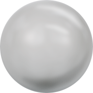 Swarovski Crystal Pearl 5818 - 6mm, Crystal Light Grey Pearl (001 616), 500pcs